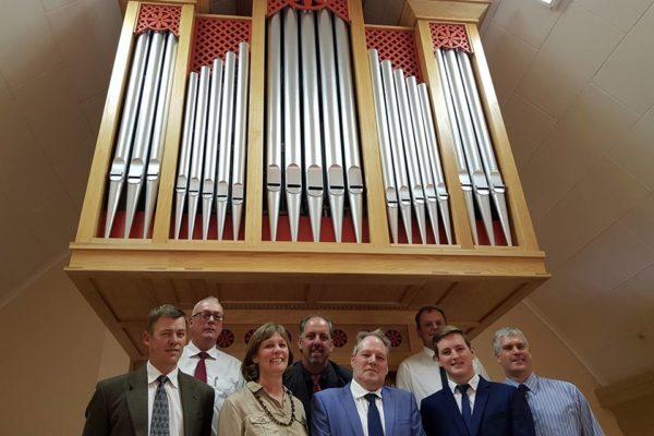 Orgelweihe am 1. Oktober 2017