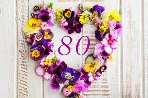 80 Jaar Oud Annie Niebuhr