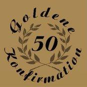 Goldenen Konfirmation 02 Konfirmanden
