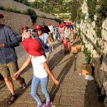 Entlang der Via Dolorosa Jesrusalem