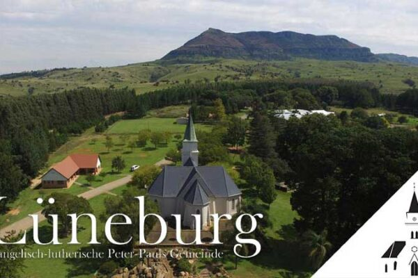 Drone Image of a White Church 16. Sonntag nach Trinitatis (Der starke Trost)